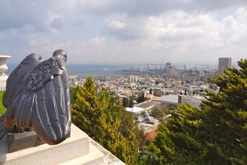 Overlook from Baha'i Gardens