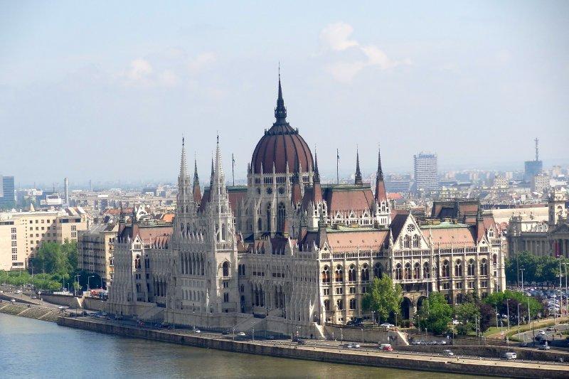 Parliament across the Danube