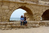 Us at the Aqueduct