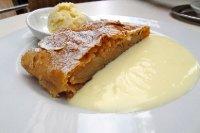 Cafe Bazar Apple Strudel