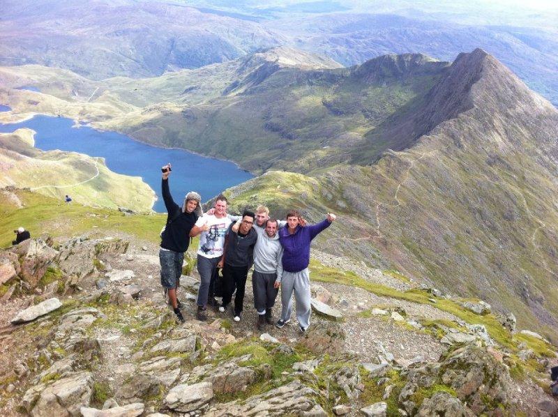 Top of Snowdon