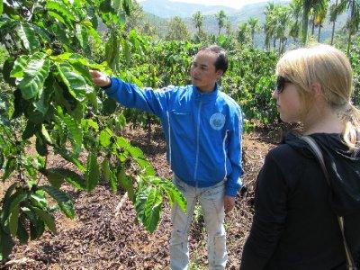 Land talks Coffee