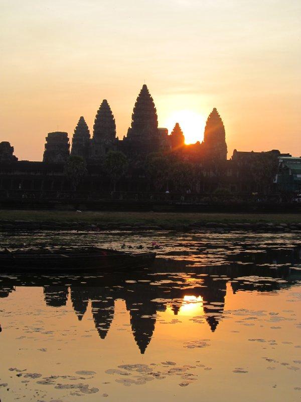 Sunrise over Angkor Wat 2