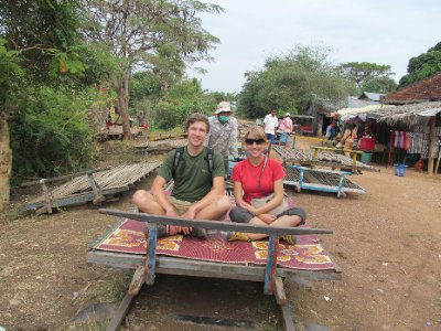 Riding the bamboo train