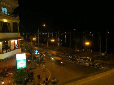View from the FCC in Phnom Pehn