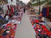 Night Market, Xiang Thong street, Luang Prabang
