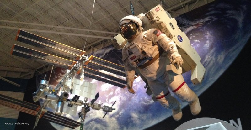 cropped iss and spacewalk