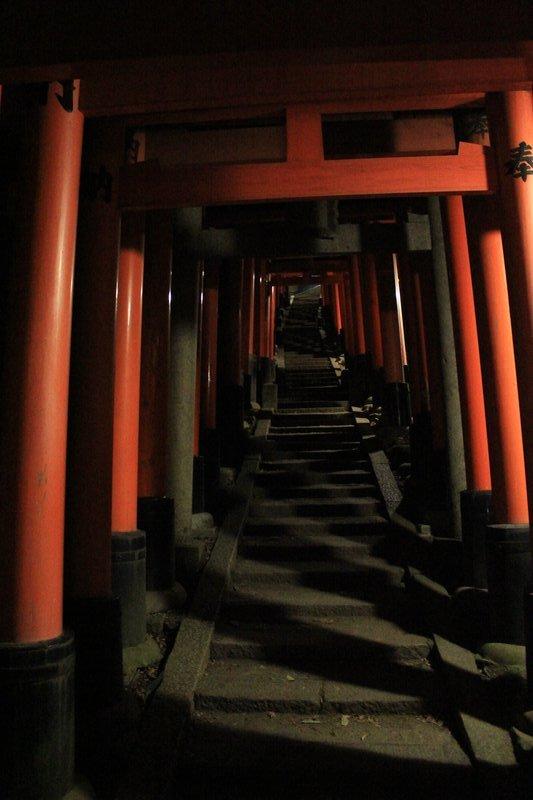 Inari temple stairs