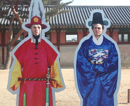 Traditional Koreans