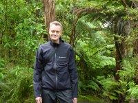 Henke on the trail
