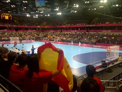 Handball in the Copper box.