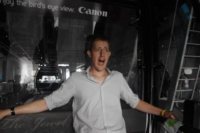 The excitement of cable car