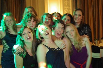 Lynne and the Girls at the Agecroft Dinner