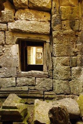 Preah Khan- a window.