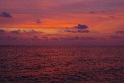 Sunset on Otres beach