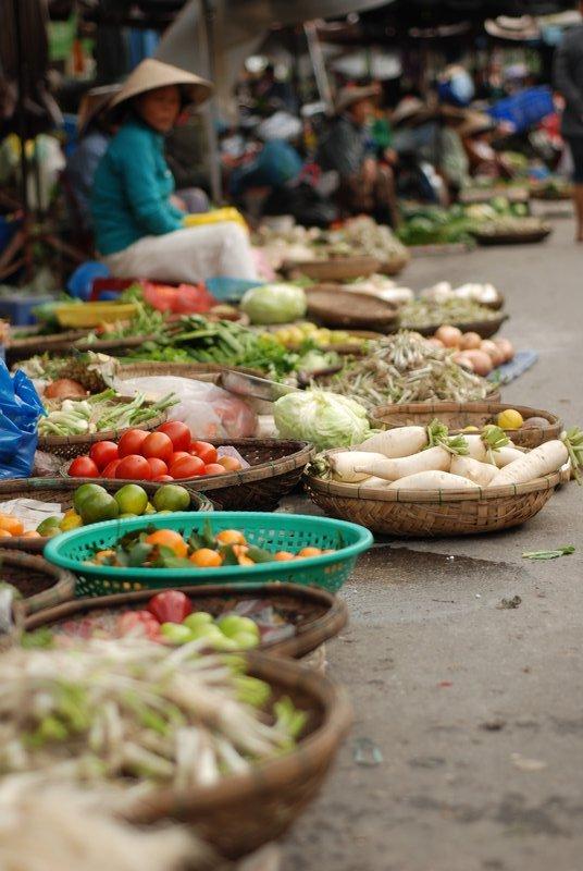 Veg Market, Hoi An