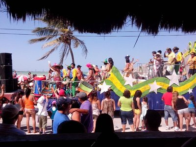 Progreso carnival parade float