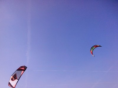 2nd national kite surfing competition...hard to get good shots!