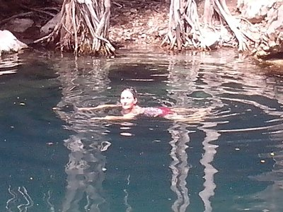 I am enjoying the open, first cenote