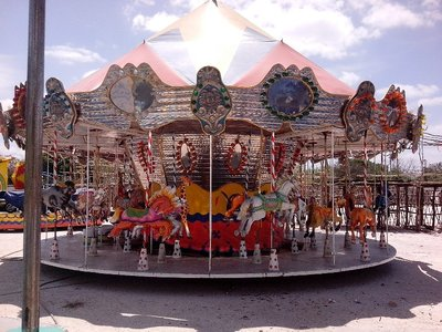 The old fashioned carousel
