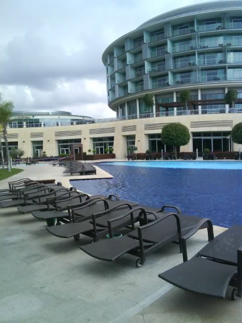 Pool in Calista Hotel