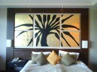 In Calista hotel room