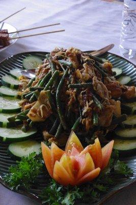 Gado gado...my new favourite dish