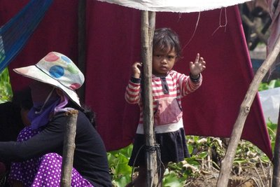 Travelling through some of Cambodia's poorest communities