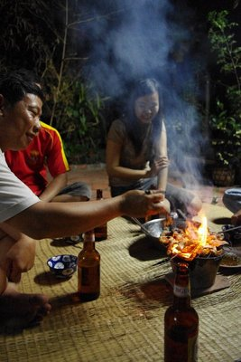 ...and then BBQ Vietnamese style.