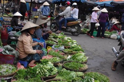 Hoi An's old market