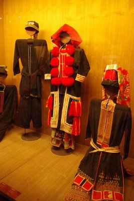 A small selection of the traditional costumes on show at the Museum