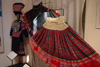 Traditional clothing at the Ethnology Centre