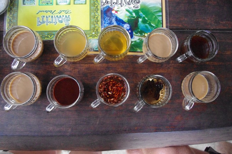 Touristy trip to tea and coffee shop…including the famous civet coffee, which I decided not to try at £50 a cup.
