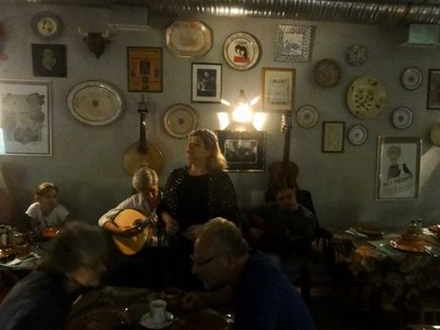 One of the Fado singers