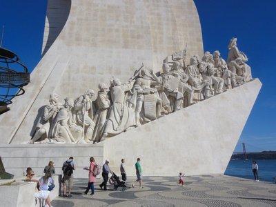 A monument to Portuguese explorers