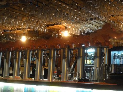 The bar at Delirium