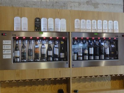 Wine vending by the glass