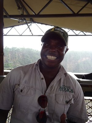 Nkosi, our happy, knowledgeable driver
