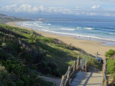 A view of Sanctuary Beach