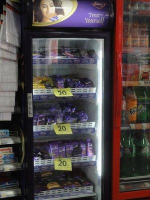 Chocolate refrigerator