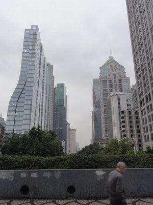The modern skyline