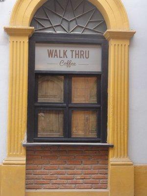 Walk thru coffee?