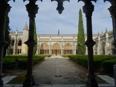 One of the cloisters