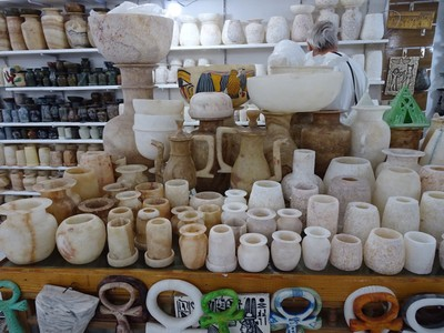 Alabaster objects for sale