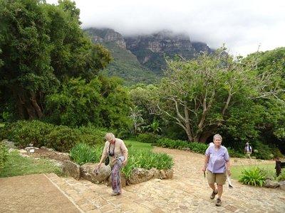 Walking the gardens