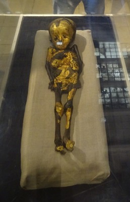 A child's mummy from Roman times