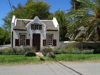 Cute little place demonstrating typical Cape Dutch style