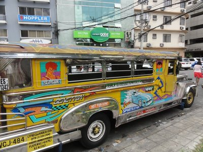 Jeepney bus