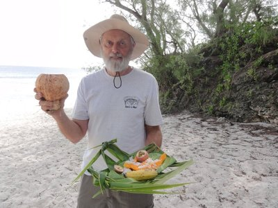 Don with his beach picnic