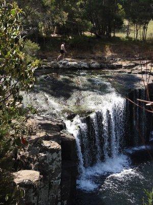 Charlie's Rock Waterfall